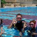 Sprachcaffe, diving