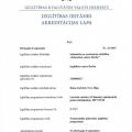 Latviešu valodas akreditācijas lapa