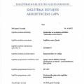 Spāņu valodas akreditācijas lapa